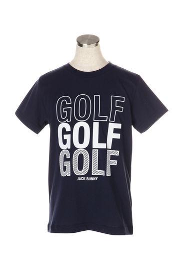 GOLFプリント 半袖 Tシャツ