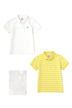 ベアカノコ 2枚セット 半袖 ポロシャツ (JUNIOR)