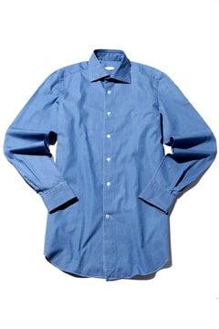 VINCENZO DI RUGGI コットンドレスシャツ