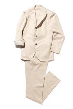 DALCUORE シングル3Bノッチドスーツ