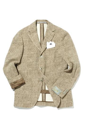 CANTARELLI コットンシルク3Bジャケット