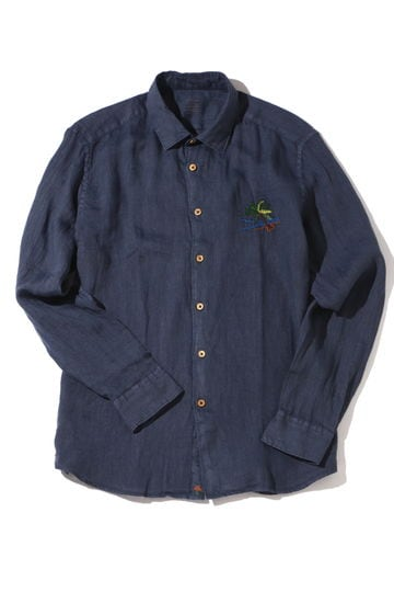 ALTEA PALMTREE エンブロイダリーシャツ2