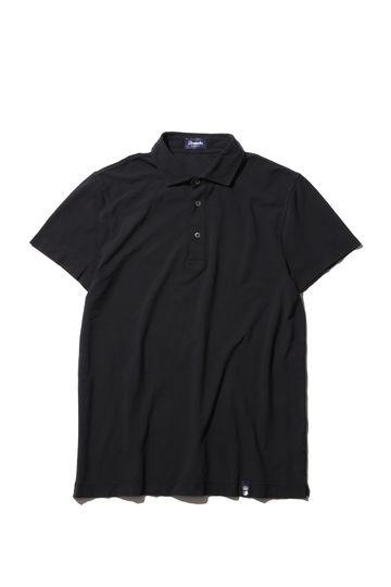 Drumohr コットンハンソデポロシャツ