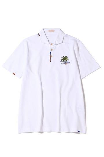 ALTEA PALMTREEエンブロイダリーポロシャツ