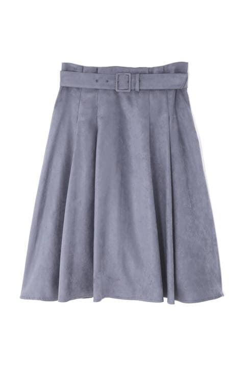 【ドラマ 新木優子さん着用】エルモザスエードスカート