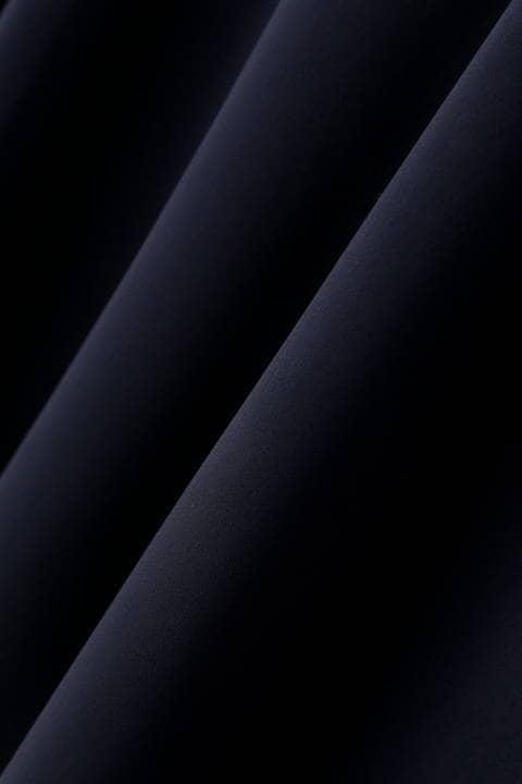 サテンストレッチサーキュラースカート