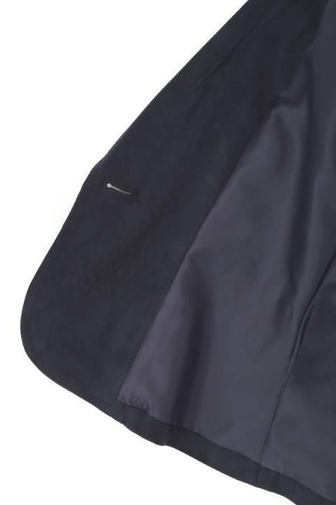 エルモザスエードテーラードジャケット