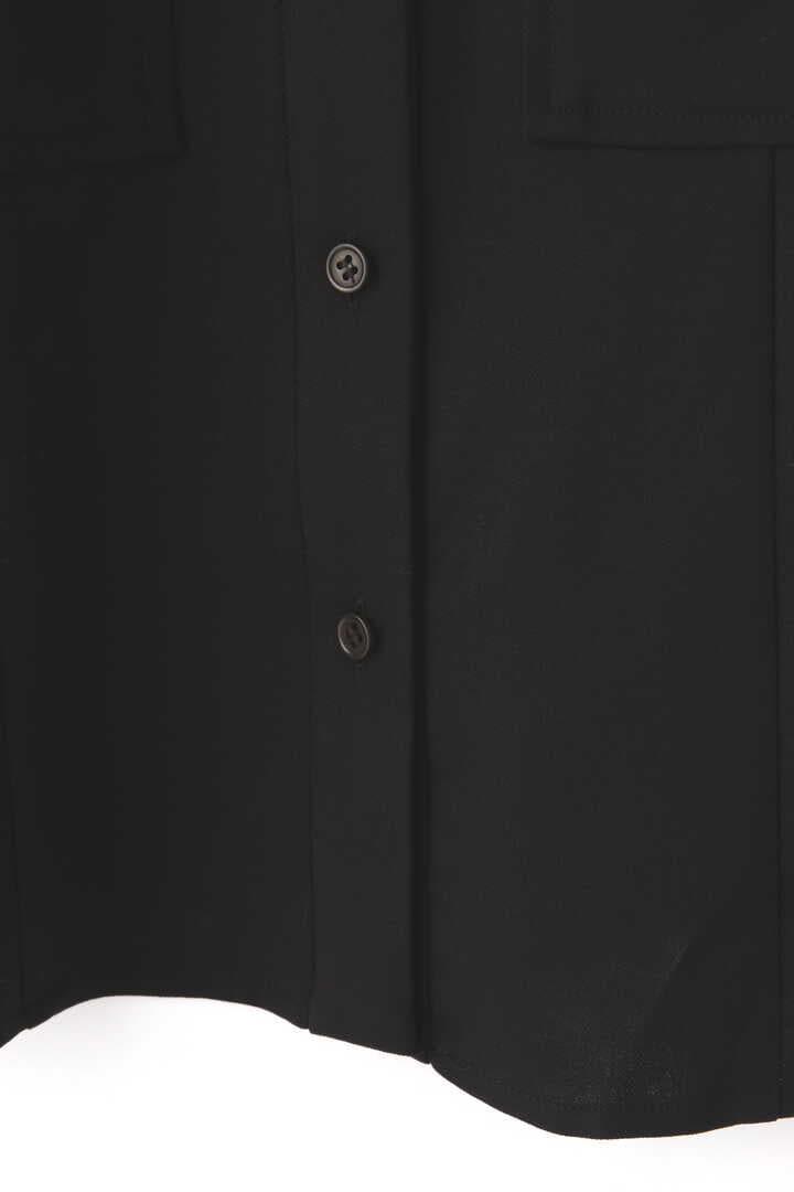 ダブルクロスコットンシャツブラウス