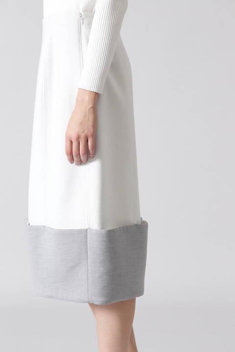 ツイルダブルクロスコクーンスカート