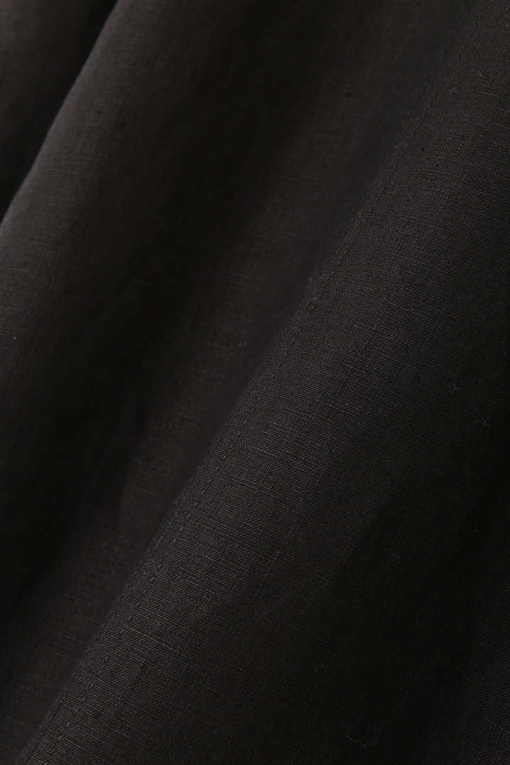 《BLACK LABEL》ボンディング麻スカート