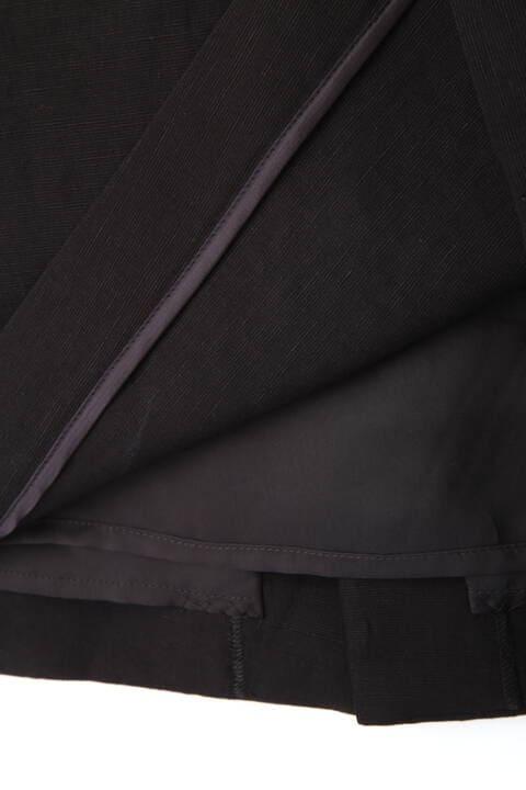 ボンディング麻タイトスカート