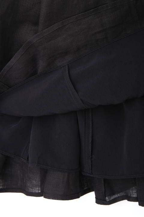 シアーリネンマキシスカート