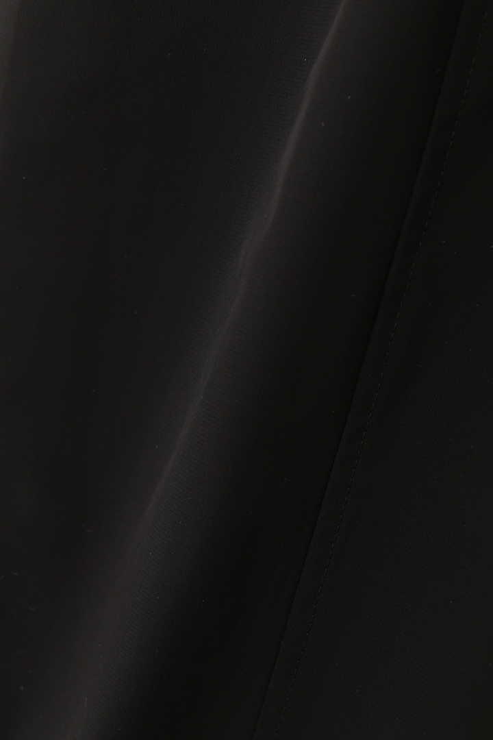 ハイツイストオーガンリボンベルト付きワイドパンツ
