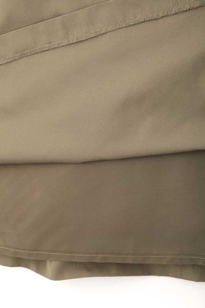 メモリーグログランリボンベルト付きワンピース