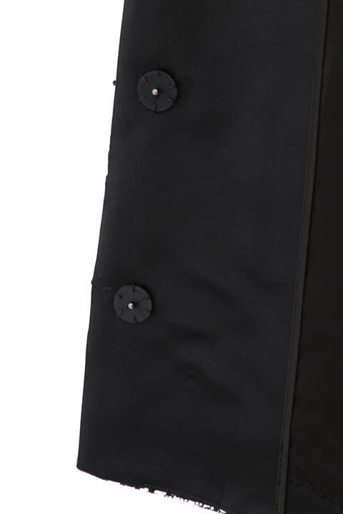 《BLACK LABEL》モノトーンツィードジャケット