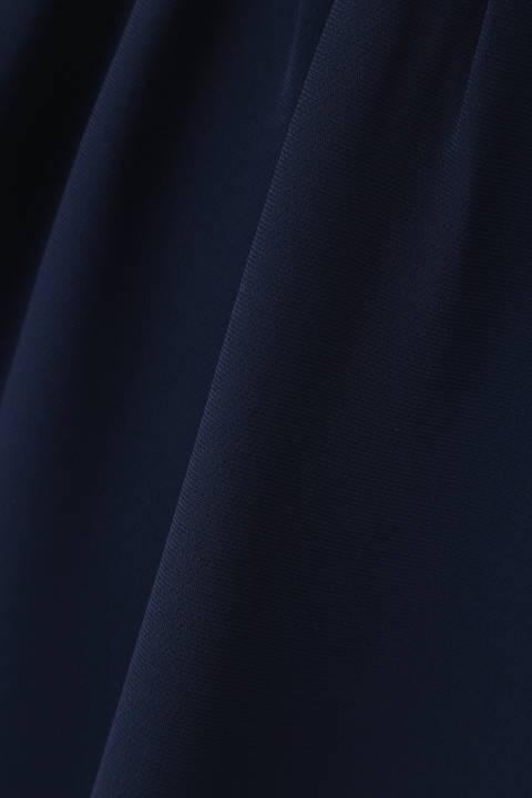ソフトジョーゼットジップアップジャケット