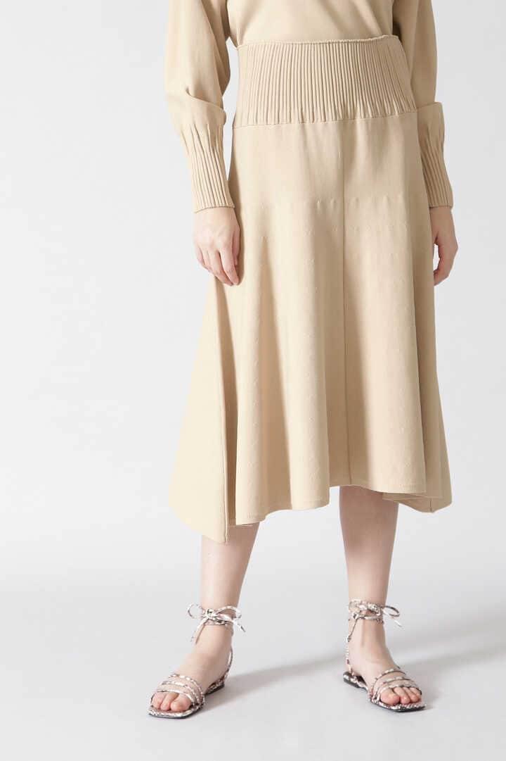 ドライストレッチニットフレアースカート