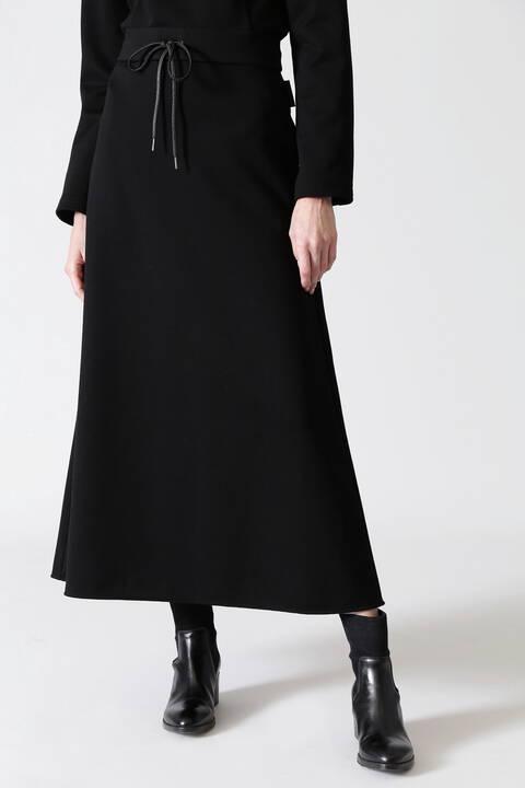 ブラッシュドスウェットスカート