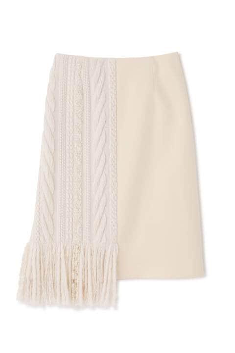 バルキーツィードスカート