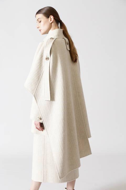 リバーヘリンボーンジャケットコート