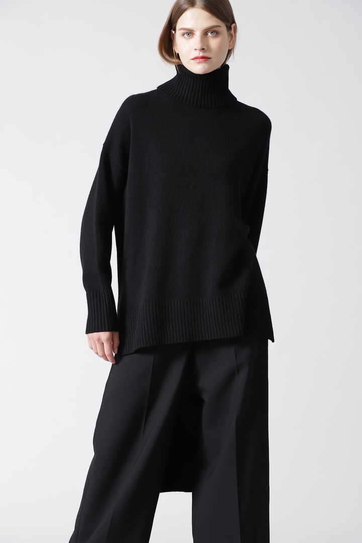 ピュアカシミヤニット (BLACK LABEL)