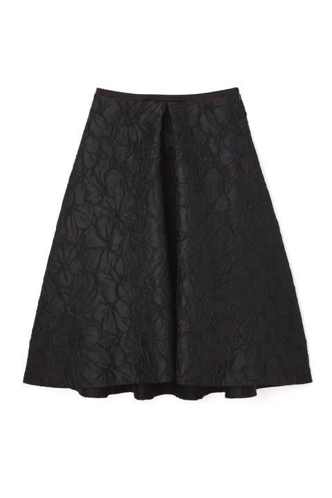 《BLACK LABEL》ブリスタージャガードフレアースカート
