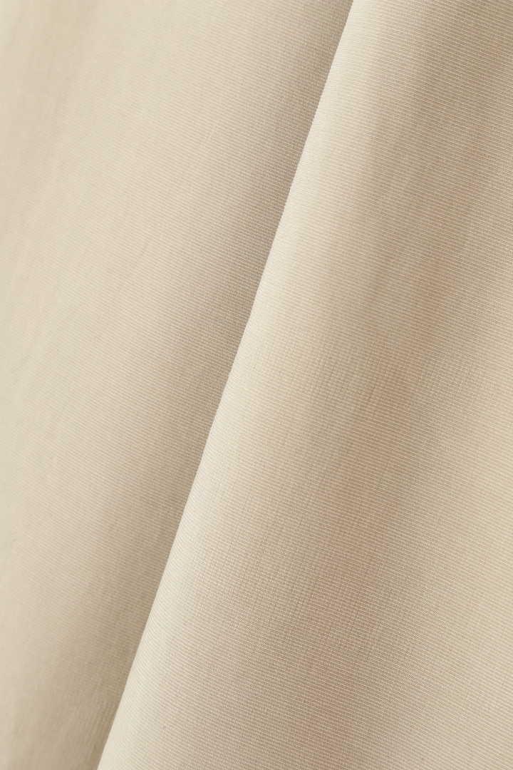 ライトグログランベルト付きスカート