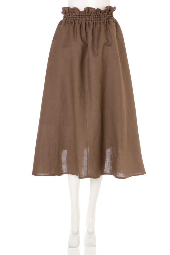 ライトリネンアシメトリースカート