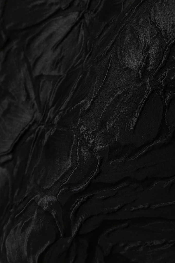 《BLACK LABEL》ブリスタージャガードバックリボンワンピース