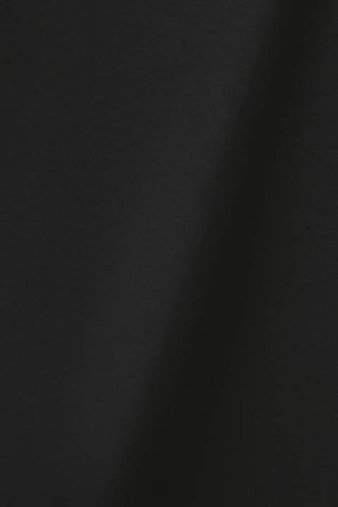 プレミアムコットンバックボタンカットソー