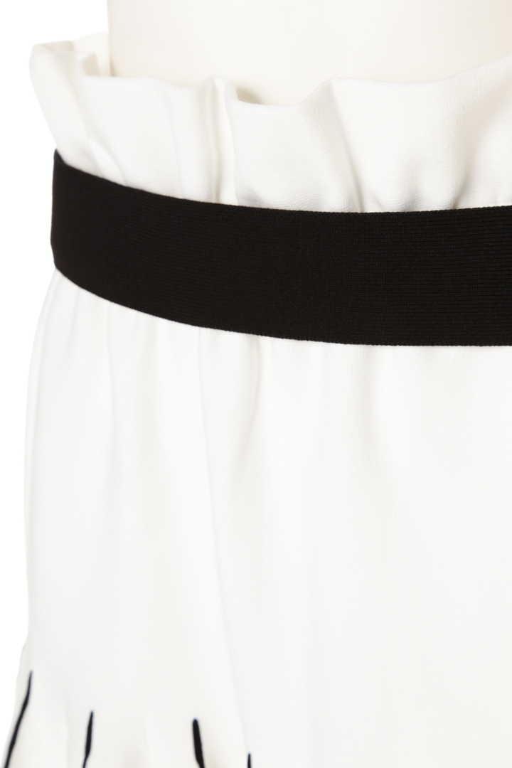 クールコットンストレッチスカート