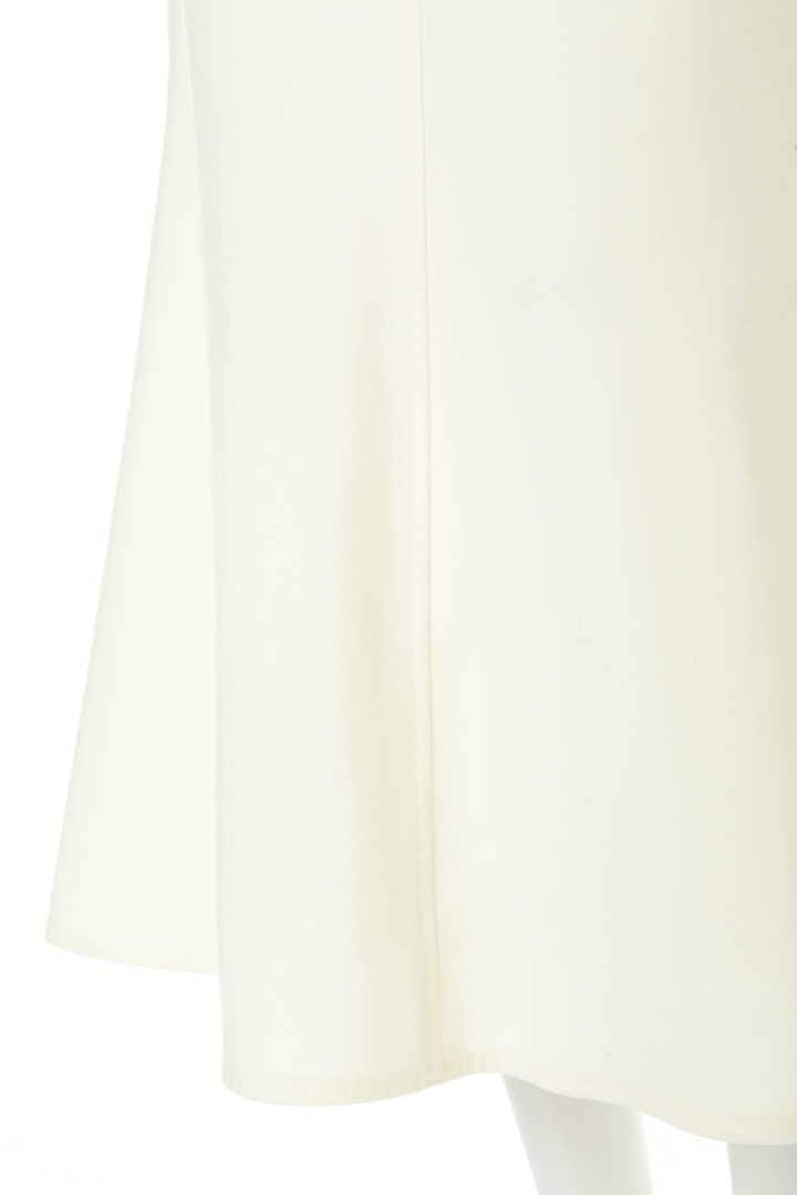 スーパー120ミルドベルト付きマーメイドスカート