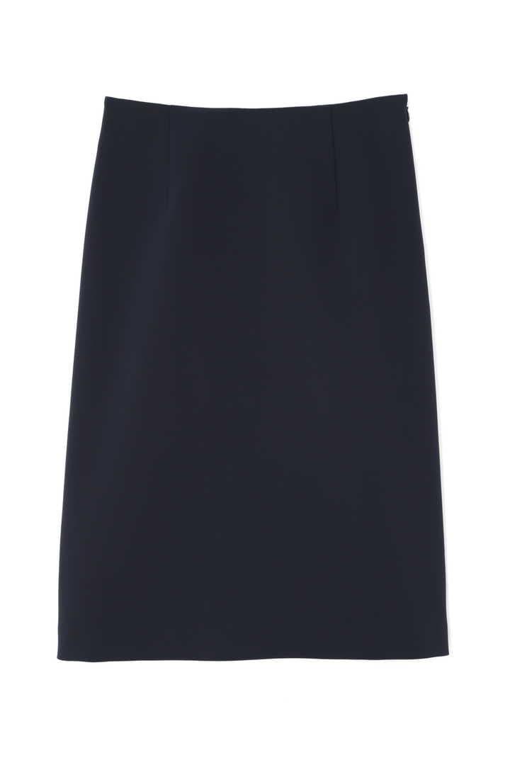 シャンタンボーダーアンダースカート付きスカート