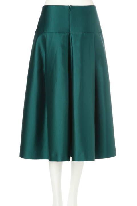 《BLACK LABEL》シルクウールスカート