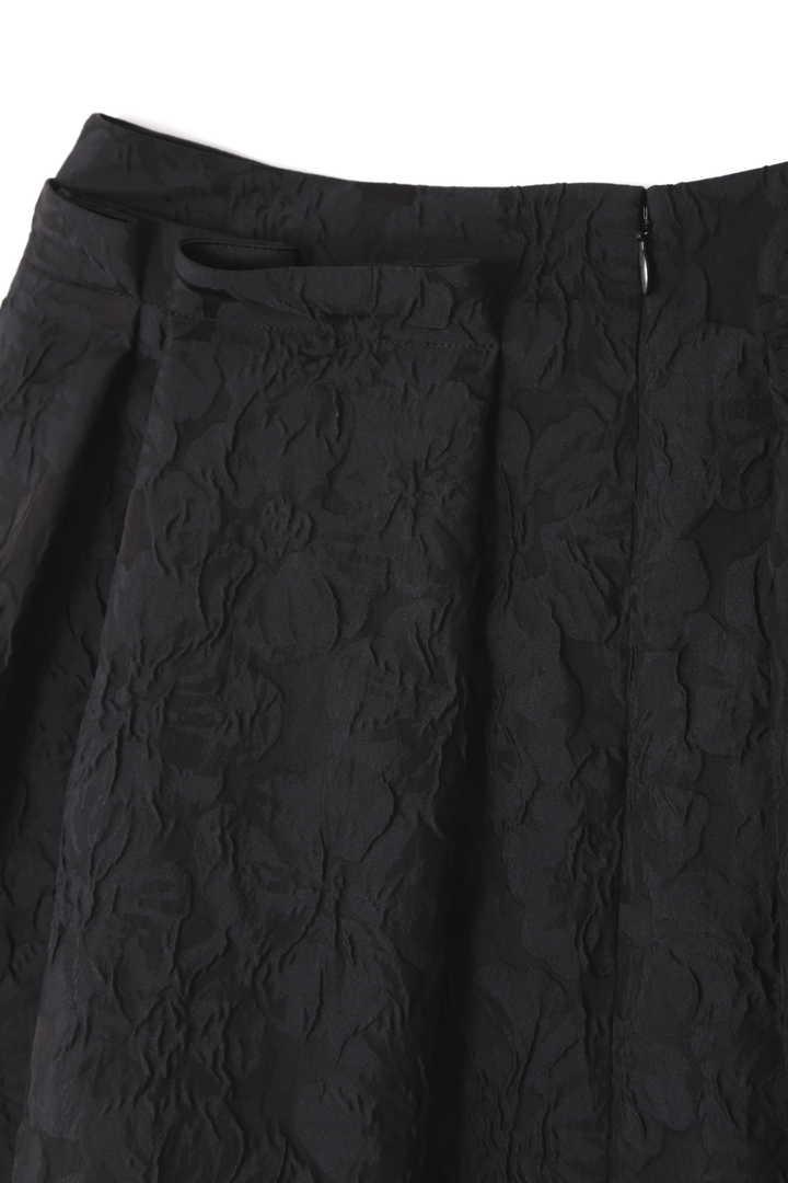 パオラフラワータックフレアースカート