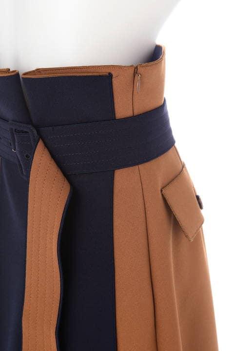 2TONEアムンゼン2枚重ねスカート