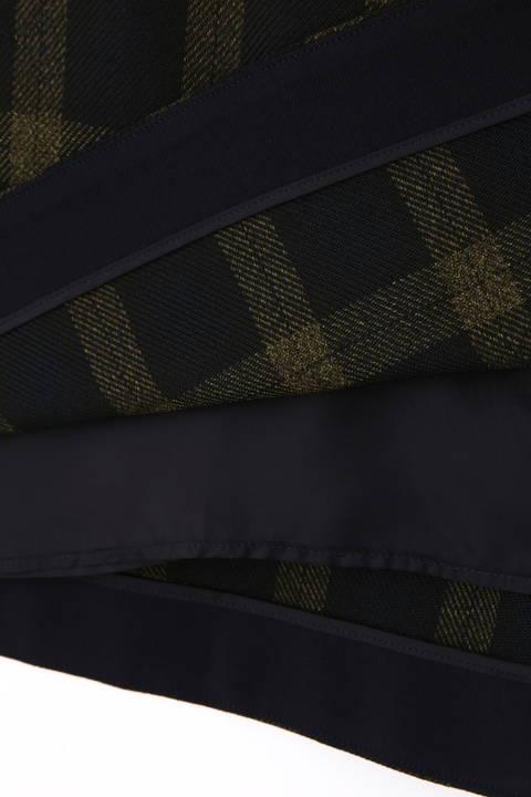 ドライツイストチェックフレアースカート