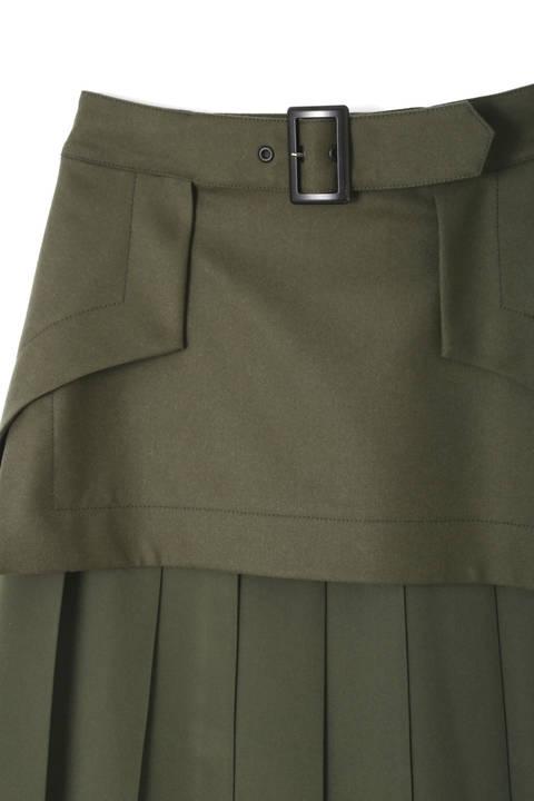 メンズフラノプリーツスカート