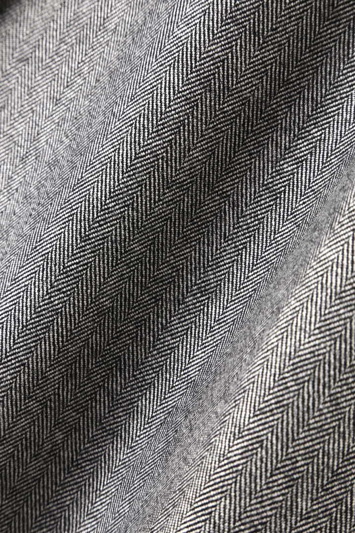 クリアヘリンボーンラップ風スカート