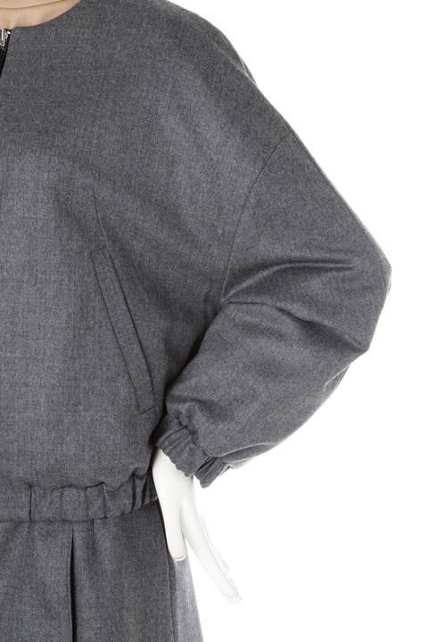 リバーシブルウールジャケット