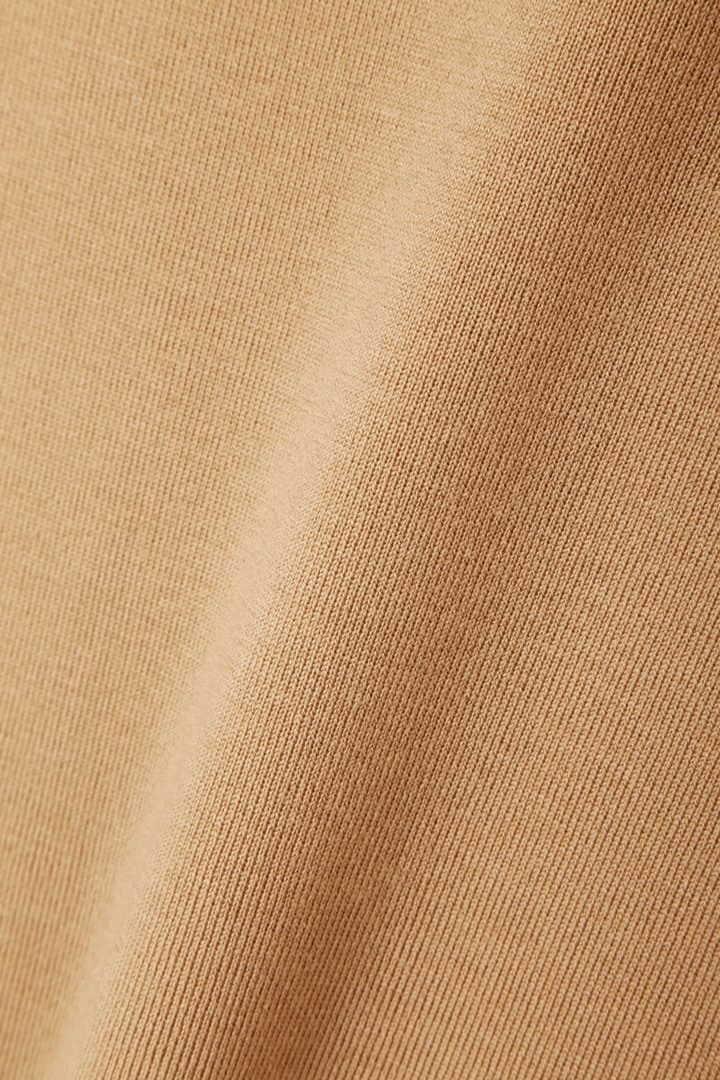 フレスコウール袖切り替えニットプルオーバー