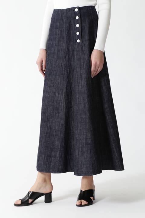 ライトデニムスカート