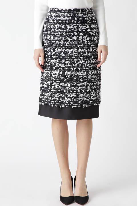 《BLACK LABEL》MALHIAツィードスカート