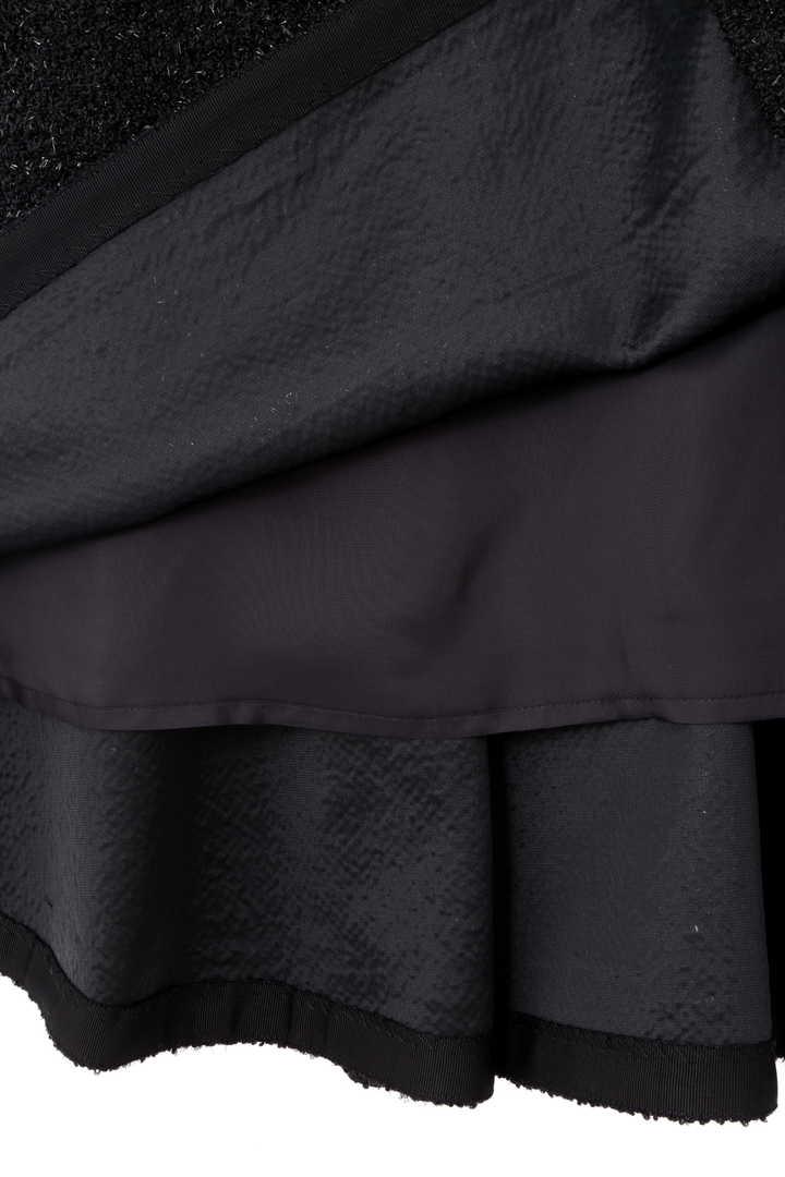 《BLACK LABEL》スパークツィードフレアスカート
