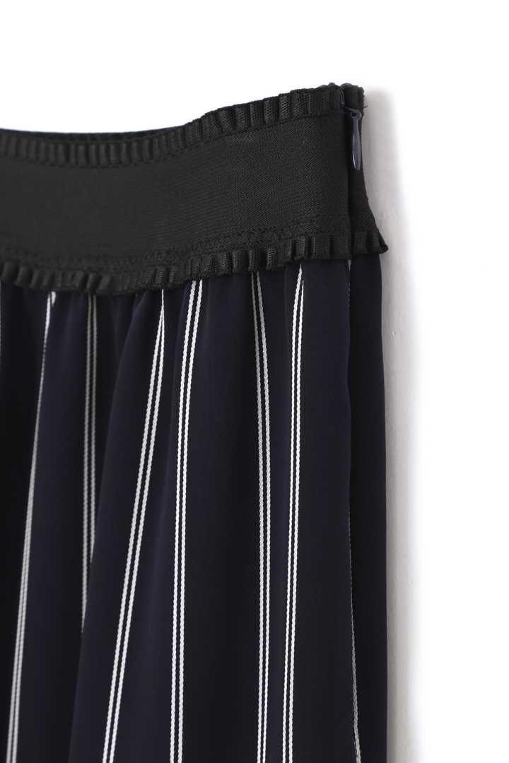 ダブルサテンストライプスカート