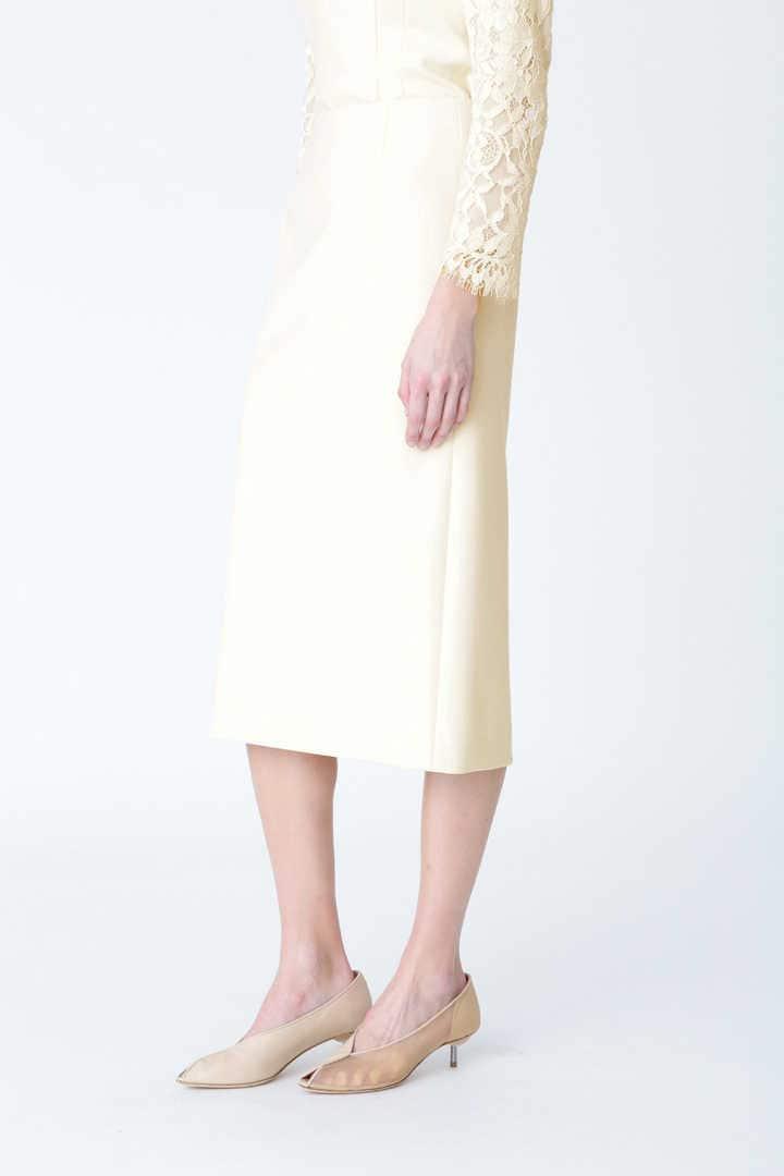 ダブルクロスストレッチタイトスカート
