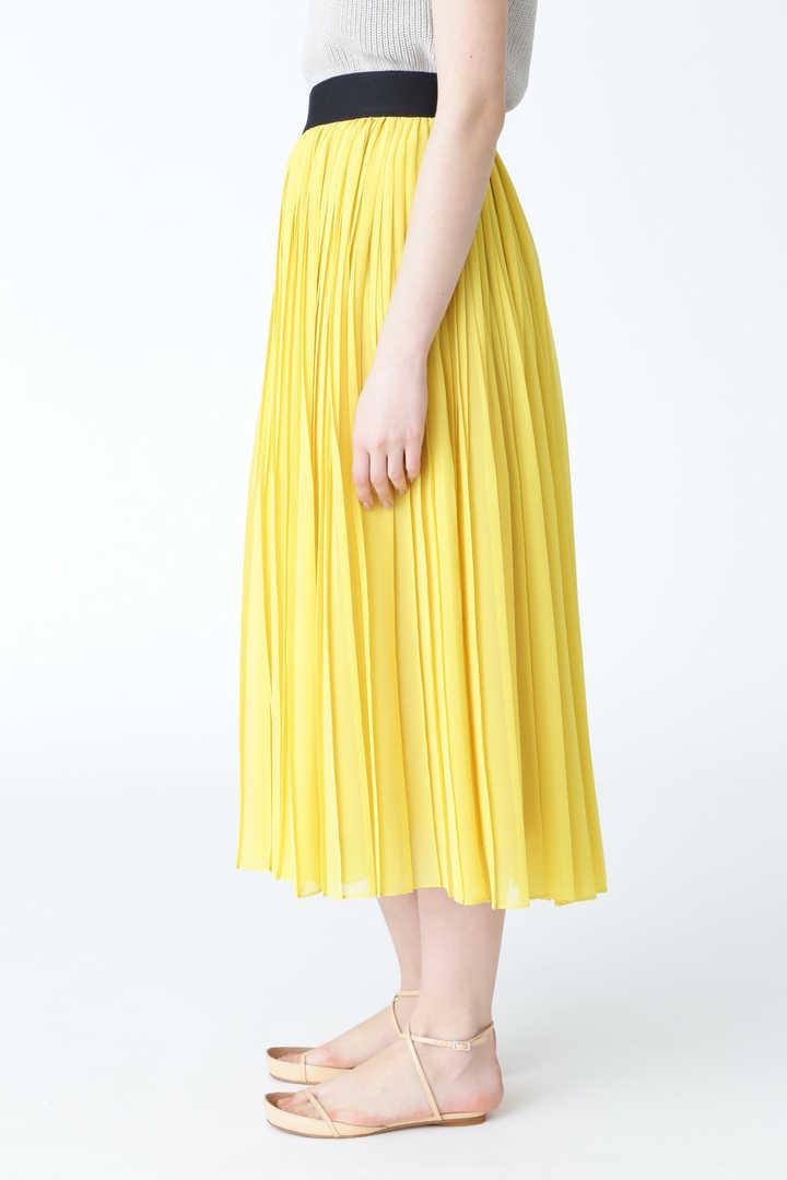 楊柳プリーツシフォンスカート