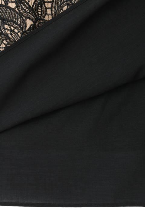 エンブロイダリーストライプスカート