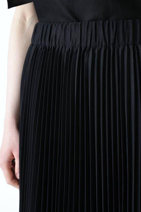 モノトーンヘリンボーンプリーツスカート