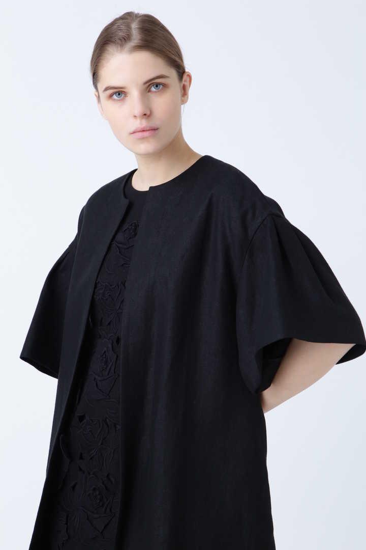 《BLACK LABEL》フラワーエンブロイダリー ワンピースドレス